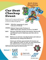 car seat checkup event events calendar city of rancho cordova