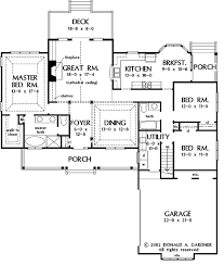 master up floor plans country style house plan 3 beds 2 baths 1827 sq ft plan 929 670