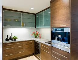 Kitchen With Glass Cabinet Doors New Glass Kitchen Cabinet Doors Designs Ideas And Decors