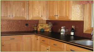 copper backsplash tiles for kitchen home decorating interior