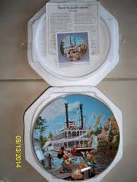 40th anniversary plates disneyland s 40th anniversary collection disneyland railroad
