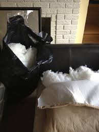 Where To Buy Cushion Stuffing Inside Out Design How To Make New Back Cushions For A Couch
