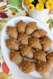 maple spiced acorn cakes with maple glaze one oven