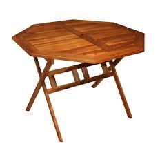 teck grade a table de jardin pliable metal jsscene com des idées