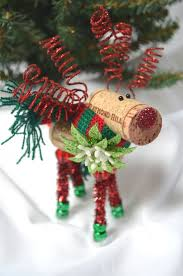 546 best christmas cork ornaments images on pinterest wine cork