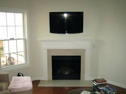 install tv on rock fireplace mounting ideas wall mount over hide