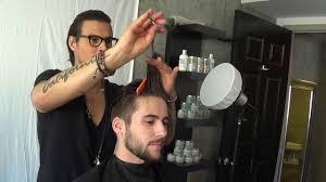 daniel alfonso hair salon la modern quiff hanz de fuko exclusive daniel alfonso youtube