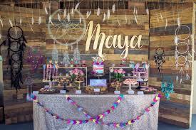Diy 1st Birthday Centerpiece Ideas Maya U0027s Boho Themed 1st Birthday By Rebecca King U2013 The Little Big