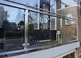 glas balkon rvs balkon hekwerken bd rvs designs