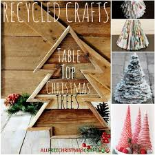 recycled crafts 24 table top trees