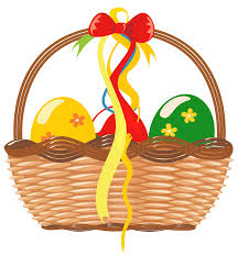 easter basket with eggs png clipart picture gallery