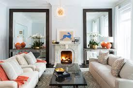 blue and orange decor 14 orange decor for living room orange curtains contemporary living