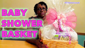 baby shower gift baskets diy baby shower gift basket tutorial giftbasketappeal