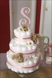 Shabby Chic Baby Shower Cakes by Rustic Vintage Farm Diaper Cake Shabby Chic Pink And Burlap Baby