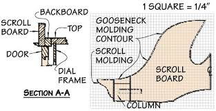 grandfather clock plans fine woodworking plans diy free download 8