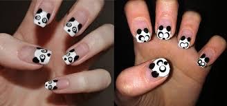 cute panda nail art designs u0026 ideas 2013 2014 fabulous nail art
