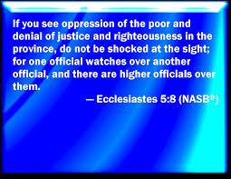 bible verse powerpoint slides ecclesiastes 5 8