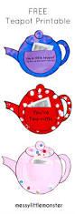 teapot craft you u0027re tea riffic messy little monster