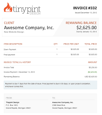 Invoice Template For Designers by Web Design Invoice Template Free Business Template