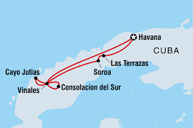Havana On Map Cycle Cuba Overview Cycle Cuba En Ca
