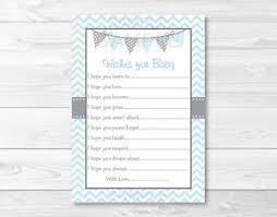 100 baby shower wishes template etsy your place to buy and