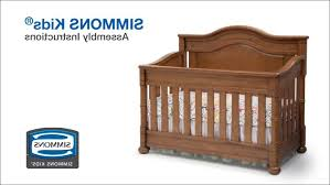 Bassinet Converts To Crib Baby Cribs Solid Wood Small Room Miniature Country