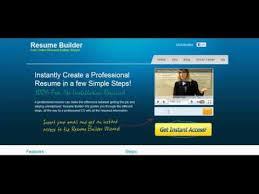 Free Online Resume Wizard by Resume Builder Wiz Free Online Resume Wizard Youtube