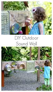 backyard design diy outdoor sound wall music station