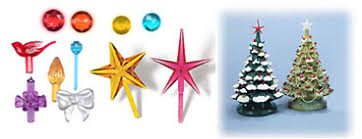 ceramic tree lights bulbs ornaments and decorations