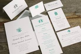 Custom Wedding Programs Letterpress Wedding Invitations Smock