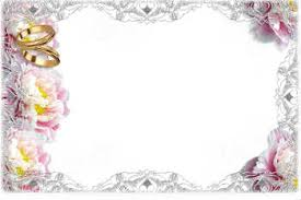 over 400 free wedding frames for photomontage online