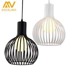 Hanging Lamps Aliexpress Com Buy Modern Fashional Metal Cage Shade Hanging