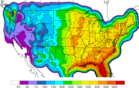 Rainfall Totals Map Eastern Pacific Tropical Cyclones And The North American Monsoon