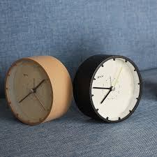 sveglia comodino brief table clock reloj alarm clock circular sveglia da
