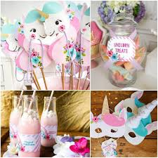 kids party ideas style report kids party ideas unicorn party free printables