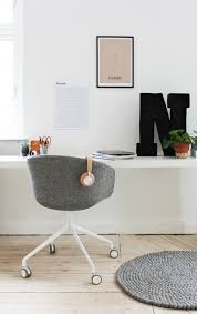 workspace in white and grey home pinterest spaces office