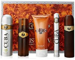 cuba gold for gift set eau de toilette spray 3 3