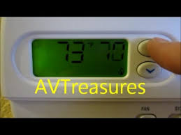 thermostat upgrade white rodgers mechanical to 1f86 344 youtube