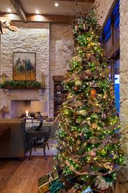 decorating rustic living room design with stone wall also stone