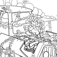 vanessa surprised barbie thumbelina coloring pages vanessa