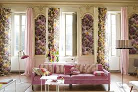 Beige And Pink Curtains Decorating Floral Curtains For Living Room Decorating Best Pattren Floral