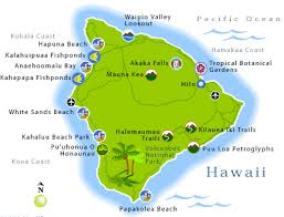 map of hawaii big island big island of hawaii map travel guide yourtripto