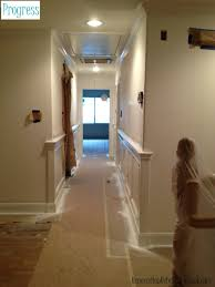 wainscoting around corner kitchen and dining room pinterest