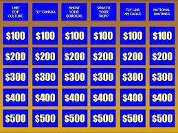 Jeopardy Board Template Free Download Jeopardy Template With Score Jepordy Template
