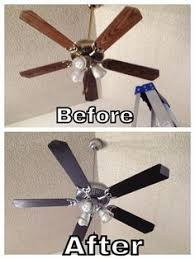 spray paint ceiling fan 6 dollar ceiling fan update ceiling fan spray painting and ceilings