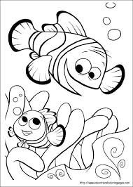 Best 25 Finding Nemo Coloring Pages Ideas On Pinterest Nemo Nemo Color Pages