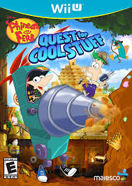amazon com phineas and ferb quest for cool stuff nintendo wii