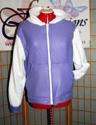 Hinata Halloween Costume Naruto Hinata Hoodie Jacket Cosplay Costume Coat Handmade