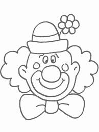 coloring printable printable clown circus coloring pages