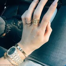 cartier love rings images Jaden smith is pictured wearing 5 000 worth of cartier love rings jpg